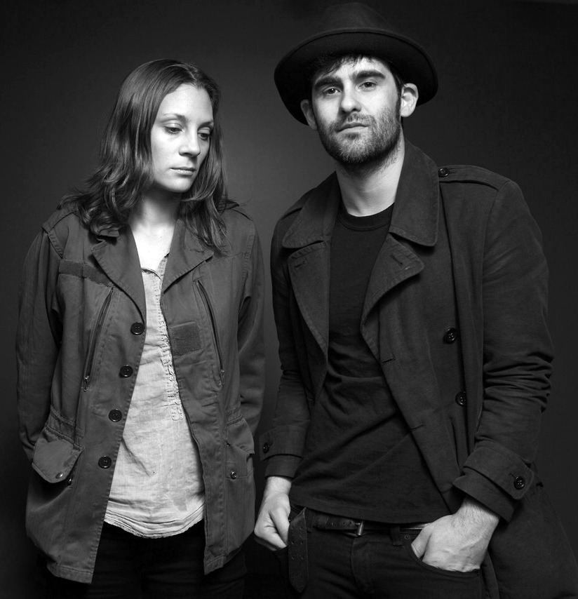 tript0caine:  Leah Shapiro and Robert Levon Been of Black Rebel Motorcycle Club.  i saw then last night. it was awesome