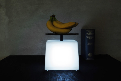 (via light = weight lamp by junji kawabe)