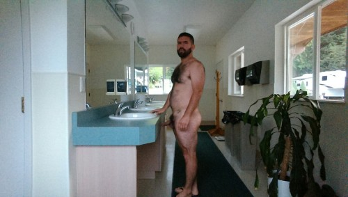 lovemusicnudefreedom:  A few pics of me in my most natural form.