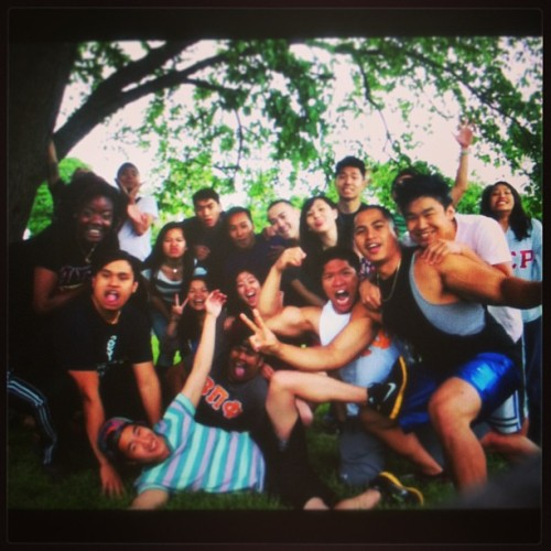 tualphasigs:  Park mixer with the wonderful brothers of Beta Pi Phi Fraternity, Inc. Thank you to everyone who came out today! #ASR #AlphaSigmaRho #ΑΣΡ #betas #betafish #betapiphi #ΒΠΦ #mixer #greek ##tuasr (at Fairmount Park)  This was fun :)