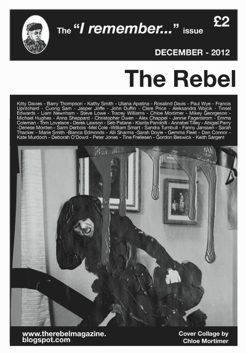 Click the cover to read my piece from the current issue of The Rebel.