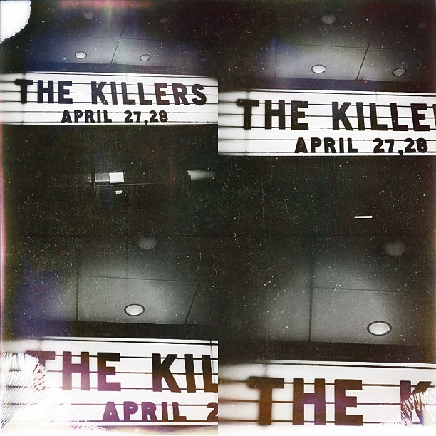It's about to go down…  @TheKillers! (at Bill Graham Civic Auditorium)