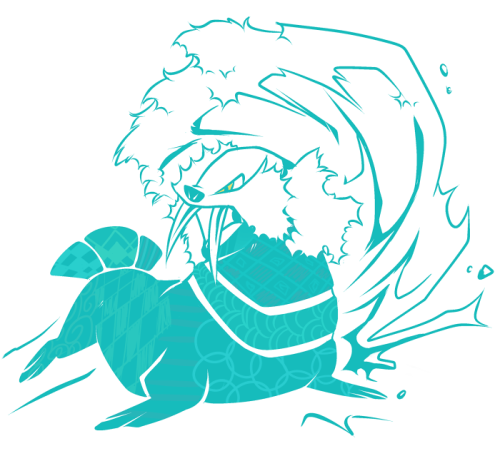 Day 11: Favorite water type - Walrein I don't really know what I'm doing anymore.