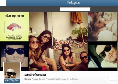 Check my page website on Instagram : http://instagram.com/sandrofrancaa