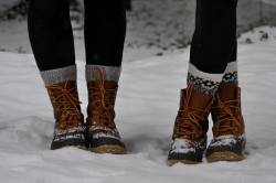 love snow photography winter girls happy photo perfect photograph Boots cozy duck sisters socks weather Preppy laces prep Sarah Vickers LL Bean 2014 KJP bean boots duck boots l.l. bean wool socks prep life preppy girls fun socks sarah kjp