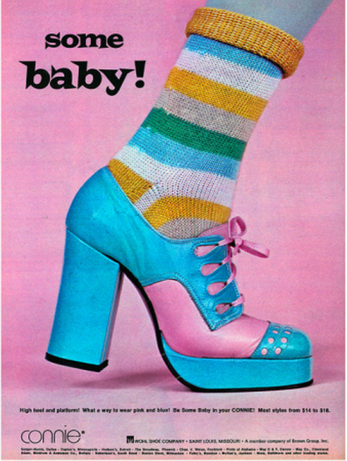 The 1960s-1969 ad for shoes (by april-mo)