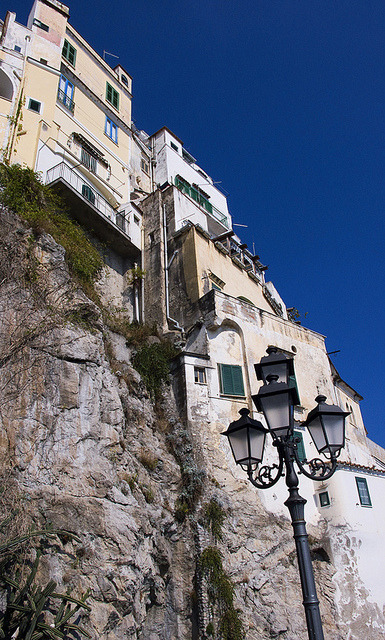 Amalfi Cliffside Houses, Amalfi Coast by Boxing Clever's Visual Forum on Flickr.
