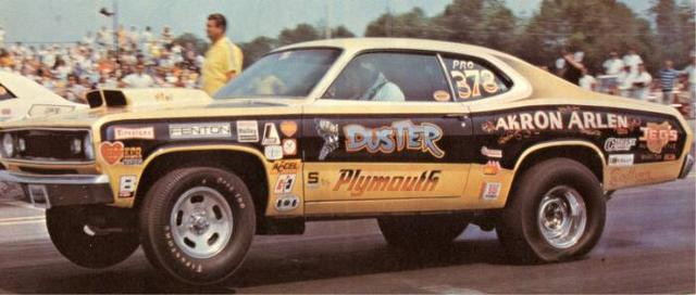 "musclecardreaming:  ""Akron"" Arlen Vanke's Duster"
