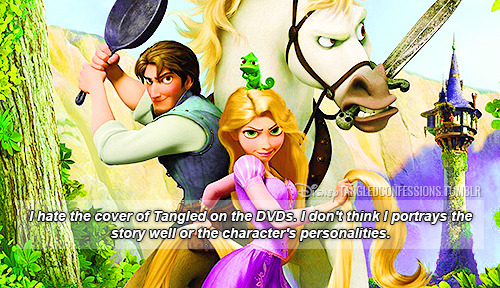 "hardcoretangled:  disneytangledconfessions:  ""I hate the cover of Tangled on the DVDs. I don't think I portrays the story well or the character's personalities.""   I agree with this submission,its like there TRYING to make it look like all these charcthers are gonna kick your ass and it kinda persuades people to watch it or else they will have to mess with Blondie,Eugene,Maximus and Pascal LOL. And when it ACTUALLY comes to the film Rapunzel is portrayed as this sulky childish teenager who falls in love with an egotistical asshole who's really a nice guy at heart. Overall though I do hail this as my all time favourite movie ever hands down. But its a pity they didn't use this one:  It seems more nicer.   I like the other poster better, but I disagree that the cover portrays the story and the characters in the wrong way.  Besides, don't you know that the cover was designed directly after a drawing by Glen Keane? If anyone knows the characters, it's him."