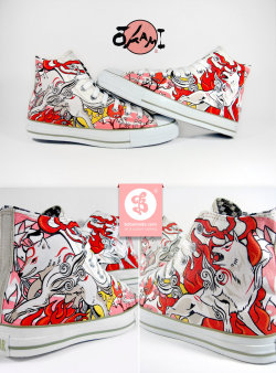 jumpzer0:  Okami Chuckz by =Bobsmade. These are AMAZING. I adore that game