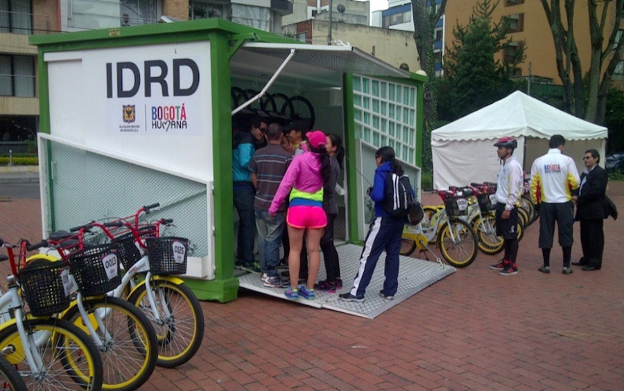 thisbigcity:  Bogota's new bike hire scheme is expanding, and it's just one of many measure working on creating a more cycle-friendly city, including new bike lanes and car-free plazas. We take a look in more detail in our latest post