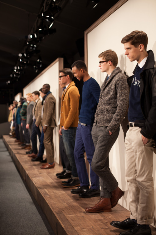 j.crew fall '13 men's line up