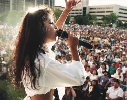 cosmicxradiance:  18 years ago today an angel was sadly taken from us. Selena Quintanilla Perez, may be gone but she will never be forgotten. Selena left a legacy behind that will live for years to come. She is still the Queen. She is such an inspiration to everyone. She proved that if you work towards your dreams, you can achieve them. She did achieve them. I will forever be proud of what she accomplished. I'm proud to call her my idol and my role model. I love you Selena. RIP ❤
