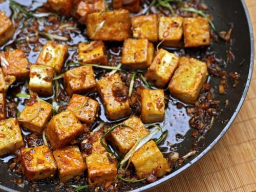 makethesefoodsok:  Black Pepper Tofu