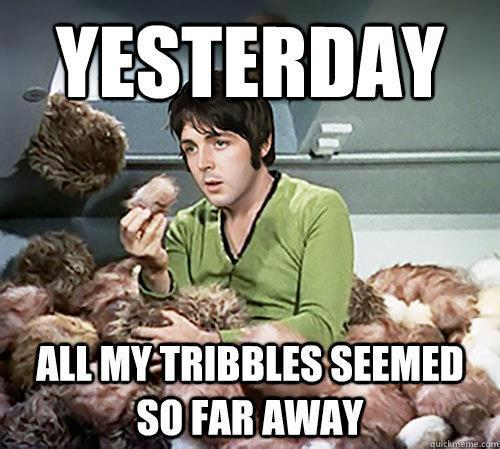 Yesterday on Star Trek