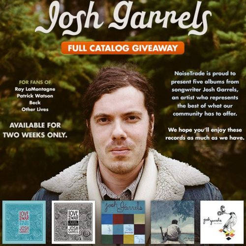 jxd1689:  Josh Garrels' Full Catalog Giveaway!!! [Get 'em here] ABOUT From March 14 to March 28, all 5 of Josh Garrels' most current albums will be available for free, exclusively on Noisetrade. This free catalog of music is given as a gift, but 100% of the tips received for any and all of the 5 albums will be given to World Relief and their courageous work in Congo. Congo is currently the most unstable, violent, and impoverished country in the world, with thousands displaced due to warring factions and a majority of the women suffering from gender based violence. Please consider leaving a tip, and in so doing, becoming a partner in the work for restoration in Congo. Thanks.To learn more about the crisis in Congo visit the World Relief website: http://worldrelief.org/congo-crisis   follow on Twitter | follow on Facebook | joshgarrels.com © Josh Garrels