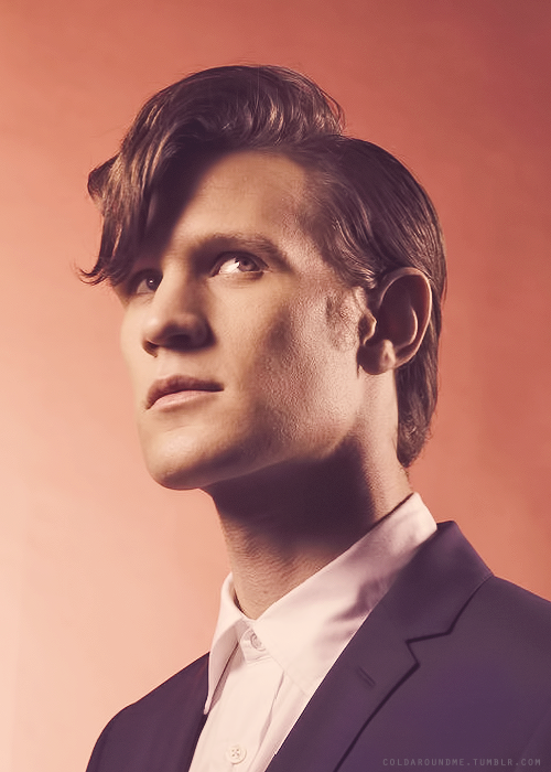doctorwho:  Matt.  Defying the laws of physics by being that damn hot. I mean, really. This is getting ridiculous.