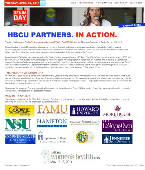 Shout out to the HBCU Partners