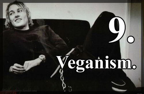littlejohnsythings:  Those Little Daniel Johns Things: 9. Veganism. thanks silverchairobsession !