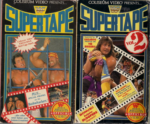 scans of my supertape vol. #1 & #2