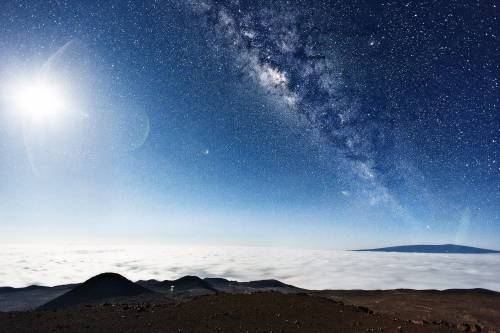 The Milky Way, as seen from Mauna Kea, Hawaii   I could cry