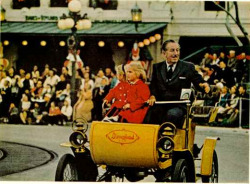 Here's a picture of my hero, Walt Disney.