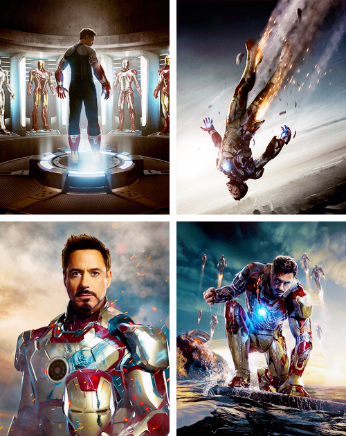 lmnpnch:  Iron Man 3 promotional images