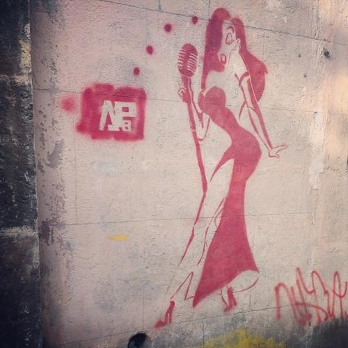 #graffiti #Yerevan #evn  (at Abovyan street)