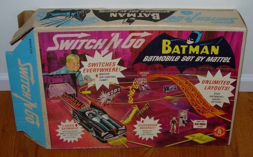 Batman Switch and Go set (1966) Insanely scarce & valuable..