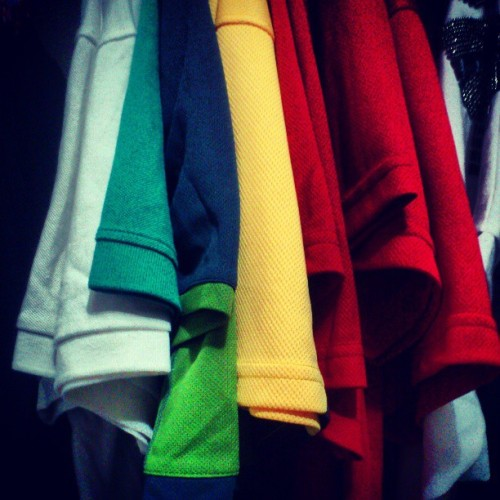 Uniform colours!! The beige still got alot..hahaha #ainDevelopements soo @erwinoor got more than me yet? Hahaha