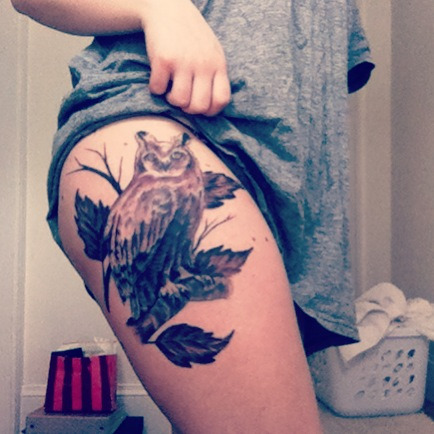 burninglikeabridgeforyourbodyy:  Thigh piece!