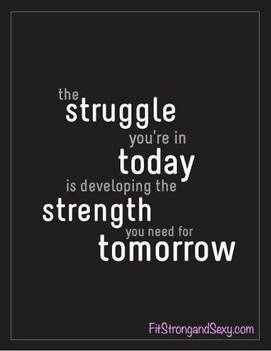 #MotivationalMonday Love this quote, don't you?!  Meet me at FitStrongandSexy.com and I will help you through the struggle, XO Amanda! #Motivation #FSS #Fitness #Health #journey #Goals