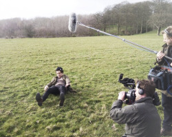 @benwinston: Day 816 on the movie @1DThisIsUs. Harry in the park.