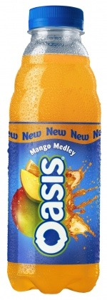 Oasis Mango Medley from Coca‑Cola Enterprises