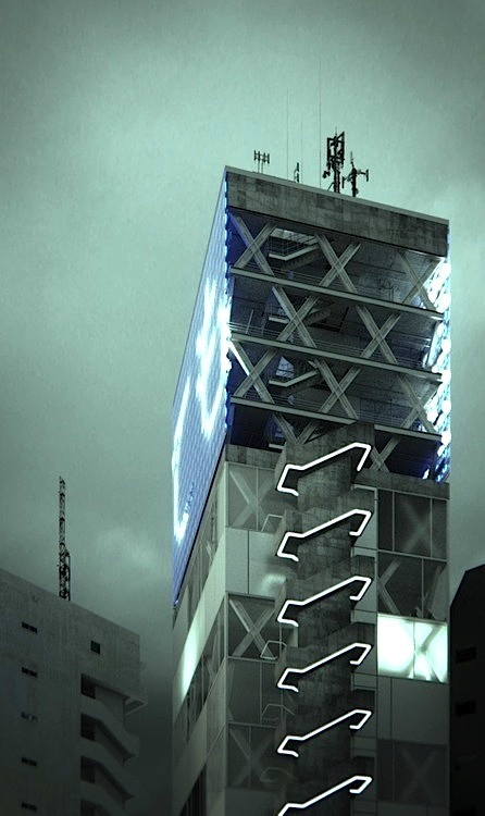 neuromaencer:  shibuya tower by john szot studio