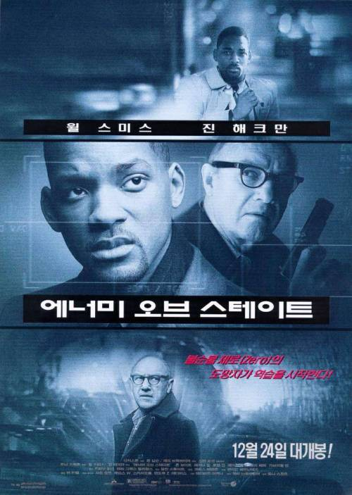 International Movie Poster (Christmas Edition): Enemy Of The State - North Korea