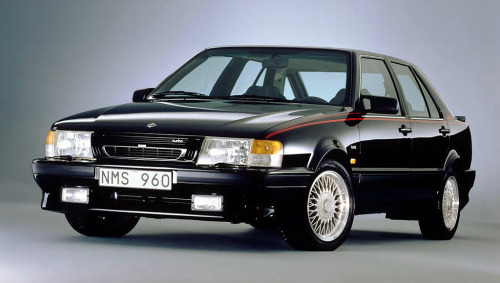 thatyellowvolvoguy:  saabblog:  The last few Carlssons produced in 1992 were capable of cracking 150mph and 0-60mph in under 6 seconds.  That is SO sick!  The subsequent 9000 Aero's accelerated faster from 50-75mph (Saab's target due to it being the most common driving range) than any other production car of their time. Yes, any other—that means faster than a Carrera 4 or a Testarossa.
