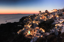 Oia, Santorini, Greece( Canon 500D + 18-55kit )