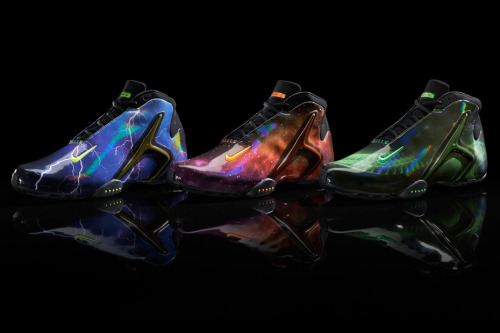 Nike Sportswear Hyperflight - Superhuman collection three colourways to represent the three Nike Basketball athletes.  lots of cool looks with the graphic uppers. grab these March 29th