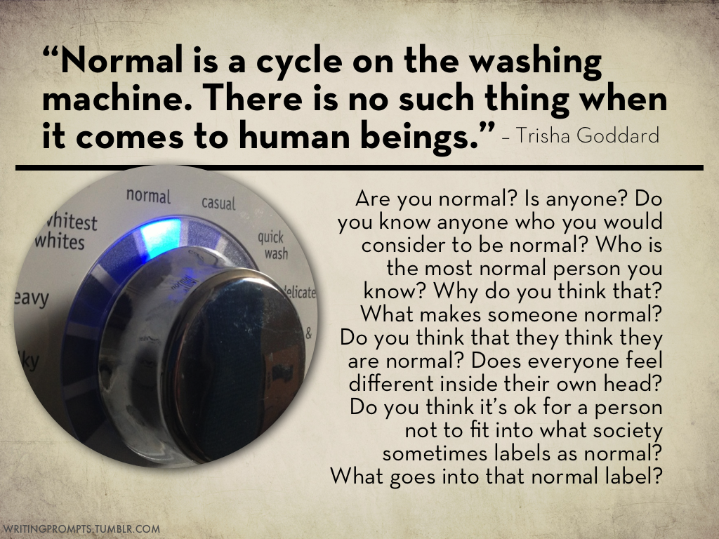 #739 who is normal?