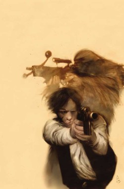 theflickerers:  Ashley Wood; cover art for Star Wars Tales 16