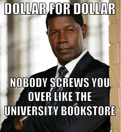 The average college student spends over $1,100 on textbooks each year and 7 out of 10 undergraduates surveyed said they had not purchased one or more textbooks because the cost was too high. What's your opinion? LIKE if the price of textbooks is too high, REBLOG with ideas on how to bring prices down.    For today's full translation, click here!