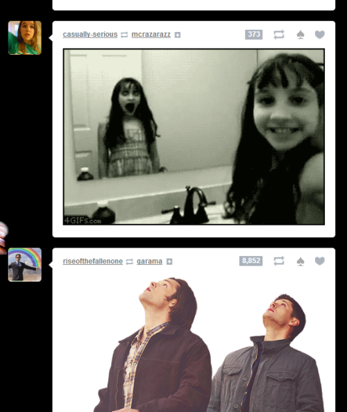 clarkgreggnog:  THERE'S A SUPERNATURAL EPISODE ON MY DASH