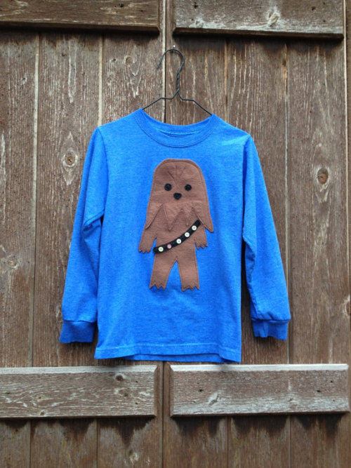 (via Chewbacca shirt by Verse23 on Etsy)
