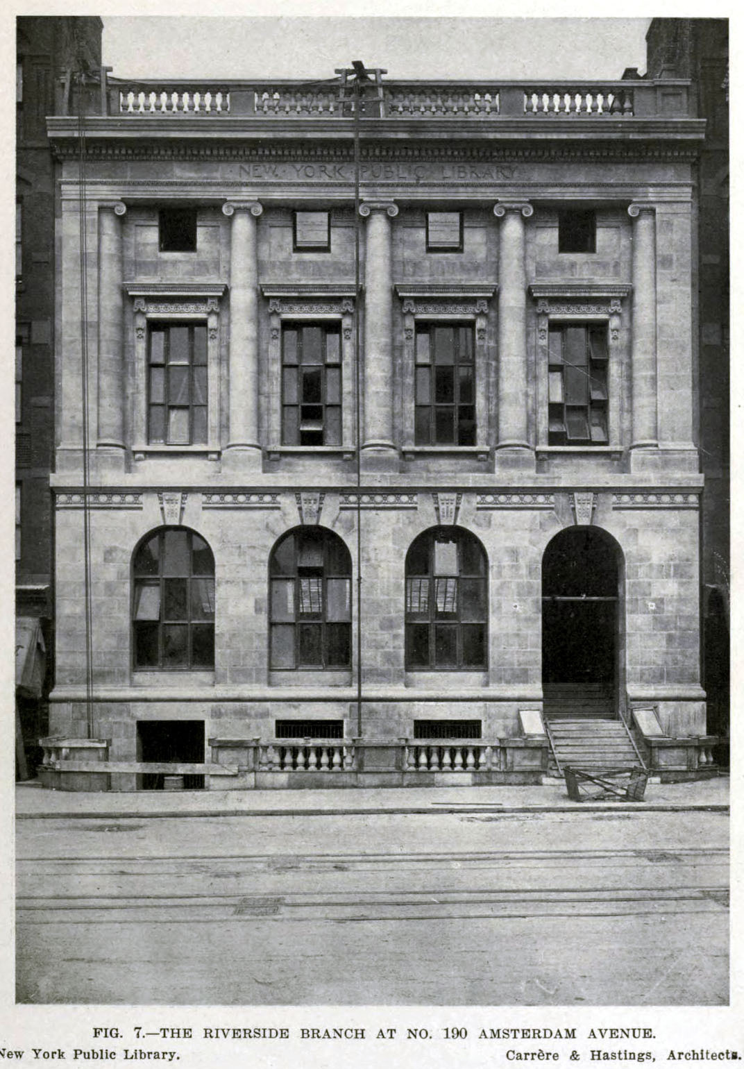 The Riverside Branch of the New York Public Library, New York City