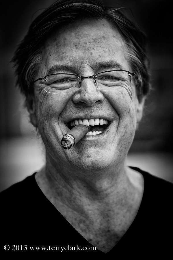 Marc Adams, owner of Bloom Cigar Company, Pittsburgh, PA Leica M9 + 90mm Summicron.   BW conversion via SilverEffectsPro 2