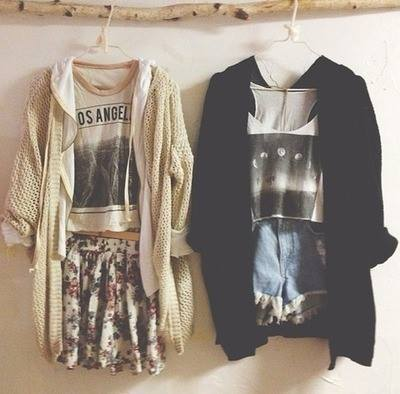 black out fit cardigan colours fashion shorts skirt style white