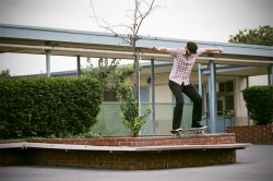 Red Bryan, switch backside nosegrind. Torrance, CA