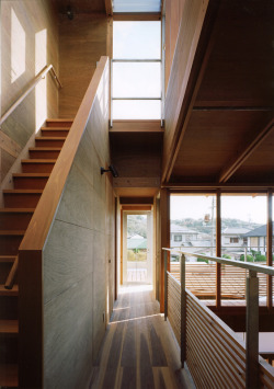 justthedesign:  Archivi Architects & Associates, Wakura House Photography, Staircase, By Yutaka Kinumaki