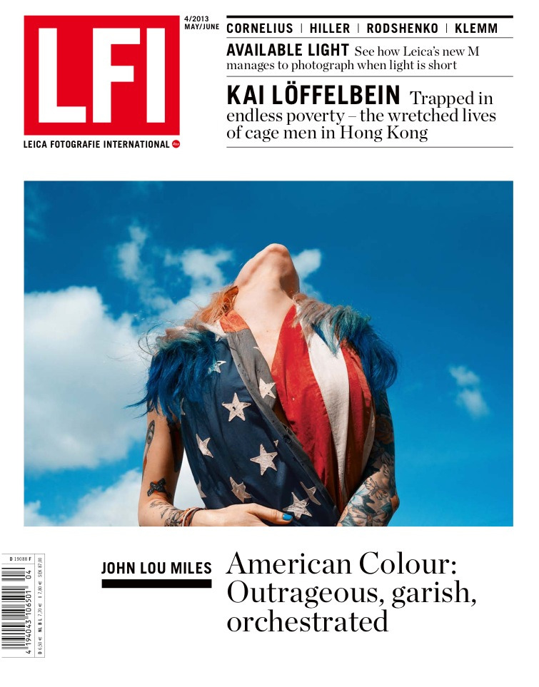 Honored to be on the cover of this months LFI